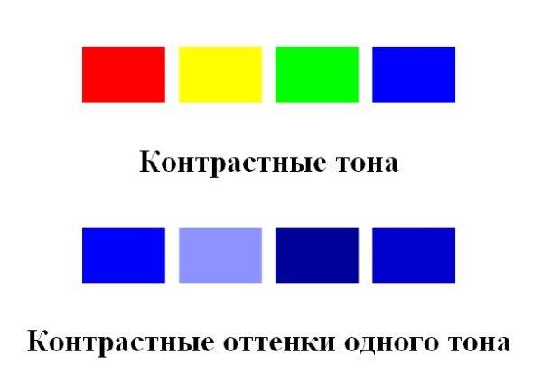Тон цвета