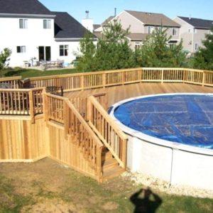 Удобный подход к бассейну