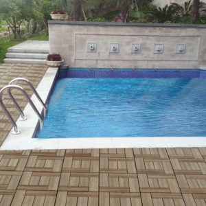 Модульная террасная доска для бассейна
