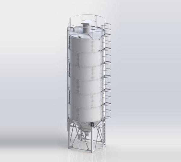 Универсальный бункер для сыпучих материалов.