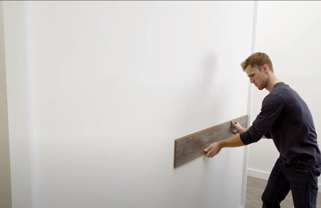 Рис. 6 Правильно подготовленная стена
